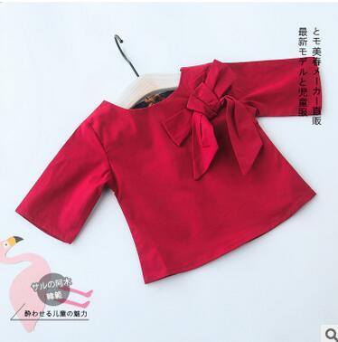 Freundschaftlich Wärme! Spezielle 2016 Neue Baby Mädchen Baby Hemd Halter Krawatte Qualität Schmetterling Kinder Kleidung Set Fre