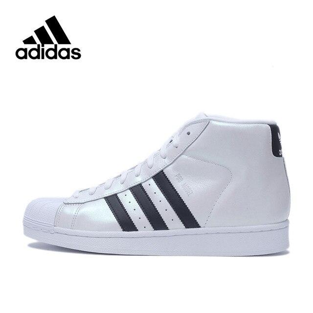 Official Adidas Originals Men s High Top Classics Skateboarding Shoes Men  Sneakers 2018 New Arrival e19216de36ca