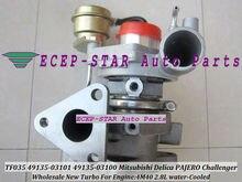 Free Ship TF035 49135-03101 49135-03100 49135-03110 ME201677 Water Cool Turbo For Mitsubishi Pajero Shogun Delica L400 4M40 2.8L