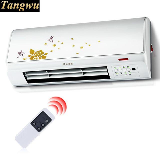 Heater is gebruikt voor het gebruik van afstandsbediening muur ...