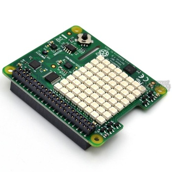 Raspberry Pi Sense HAT with direction , pressure, humidity and temperature sensor
