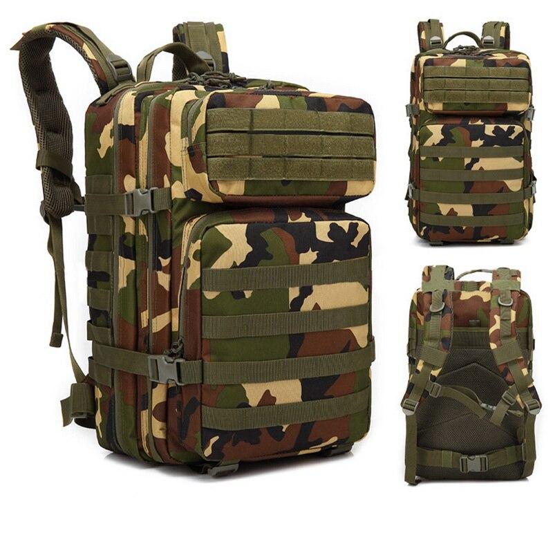 Gepäck & Taschen Zuversichtlich Heflashor Militärische Taktische Rucksack Männer Armee Camouflage Outdoor Rucksack Rucksack Reise Camping Wandern Zyklus Fahrrad Gepäck Tasche