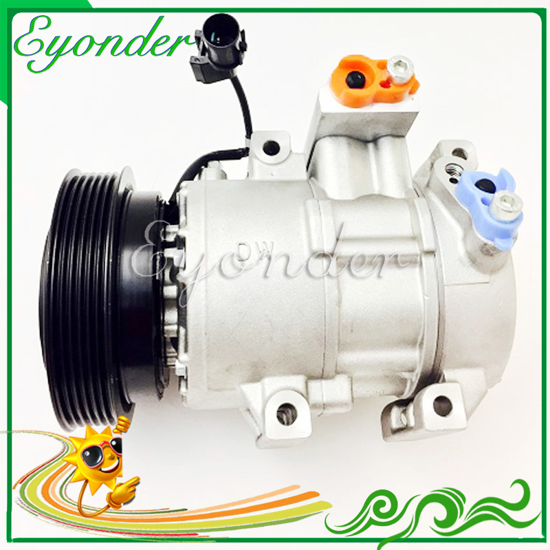 AC A/C Air Conditioning Compressor Cooling Pump for Kia CERATO Spectra I  LD G4ED 1.6 97701-2F800 97701-2F800AS 977012F800 air conditioning