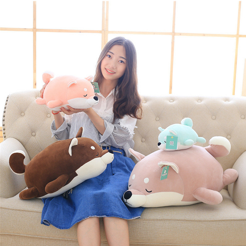 Fancytrader Animals Akita Dog Toys Plush Stuffed Soft Dogs Pillow Doll 60cm 24inch Kids Gifts akita