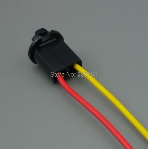 shhworldsea Free Shipping  High Quality100pcs T10 car lamp socket led/ Halogen headlamp pigtail connector PLUG auto bulb Socket