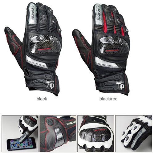 KOMINE GK193 motorcycle gloves breathable dry leather carbon fiber 3D knight riding glove 3color 100% waterproof authentic germany nerve kq 019 leather motorcycle gloves cross country knight glove winter warm breathable