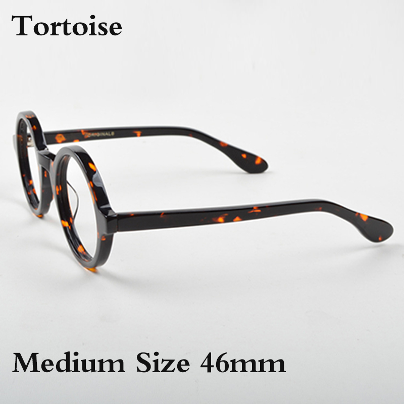 Image 5 - Optical Eyeglasses Frame Men Women With Case&Box Vintage Round Johnny Depp Computer Glasses Spectacle Frame Male Clear Lens-in Men's Eyewear Frames from Apparel Accessories