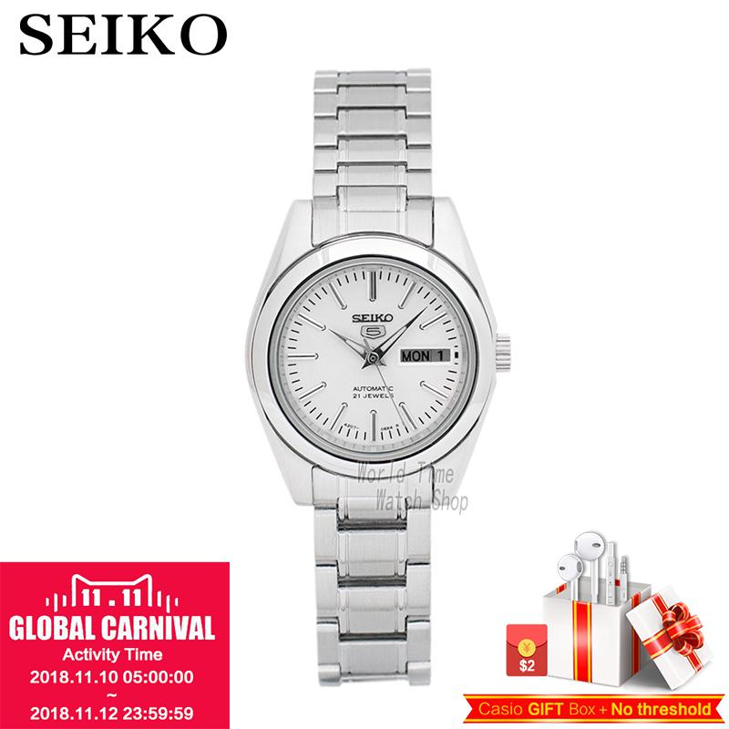SEIKO watch 5 Sportura automatic mechanical ladies watch SYMK17J1 SYMK13K1 SYMK34J1 SYMG55J1 SYMK27J1 SYMK43J1 SYM787K1 цена и фото