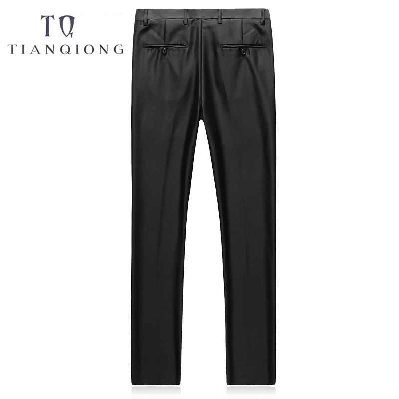 TIAN QIONG (Jackets+Pants+Vest) Slim Fit Suits Men Notch Lapel Business Wedding Groom Leisure Tuxedo Latest Coat Pant Designs