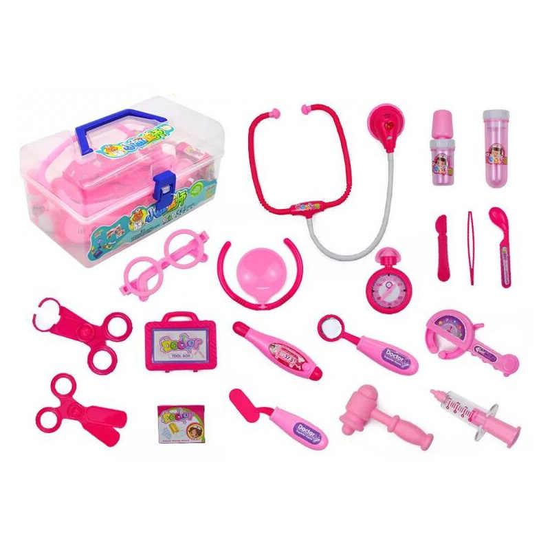 2019 новые детские забавные игрушки игра в доктора наборы для ухода за кожей игрушечная аптечка ролевые игры доктор игрушки стетоскоп инъекции детские подарки