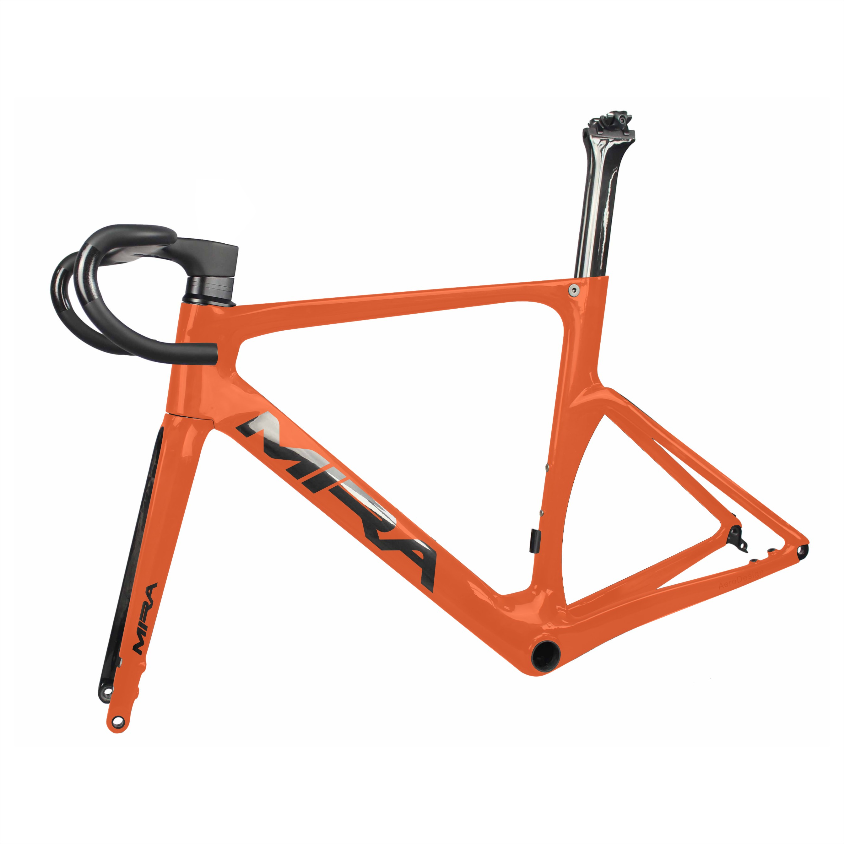 AERO  Flat Mount Disc Road Bike Frame ,warranty 2 Years Full Carbon Bicycle Frame In Disc Brake,China Carbon Frame