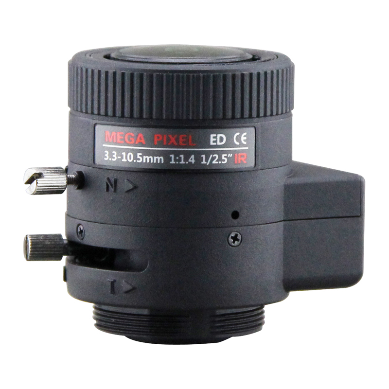 5 Megapixel Auto Iris Lens 3.3-10.5mm, 1/2.5 Varifocal HD Lens  ,lens for CCTV Surveillance cameras5 Megapixel Auto Iris Lens 3.3-10.5mm, 1/2.5 Varifocal HD Lens  ,lens for CCTV Surveillance cameras