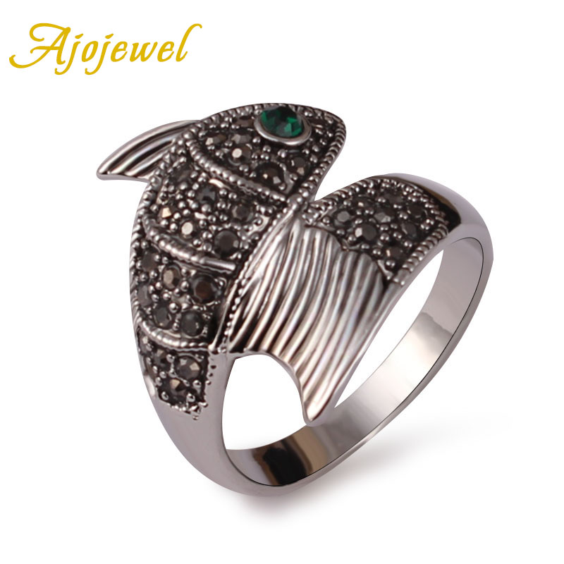 Buy fish rings for men and free shipping on AliExpress