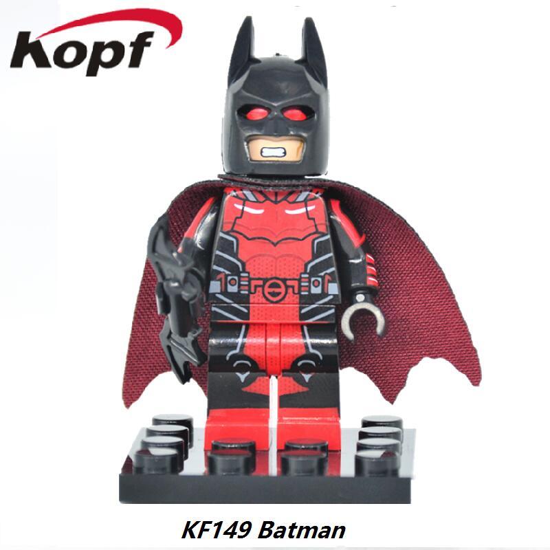 Single Sale Super Heroes Red Clan of the Cave Batman figures Bricks Building Blocks Best Collection Toys for children Gift KF149 топы sally hansen 3d gel shine top coat объем 13 3 мл