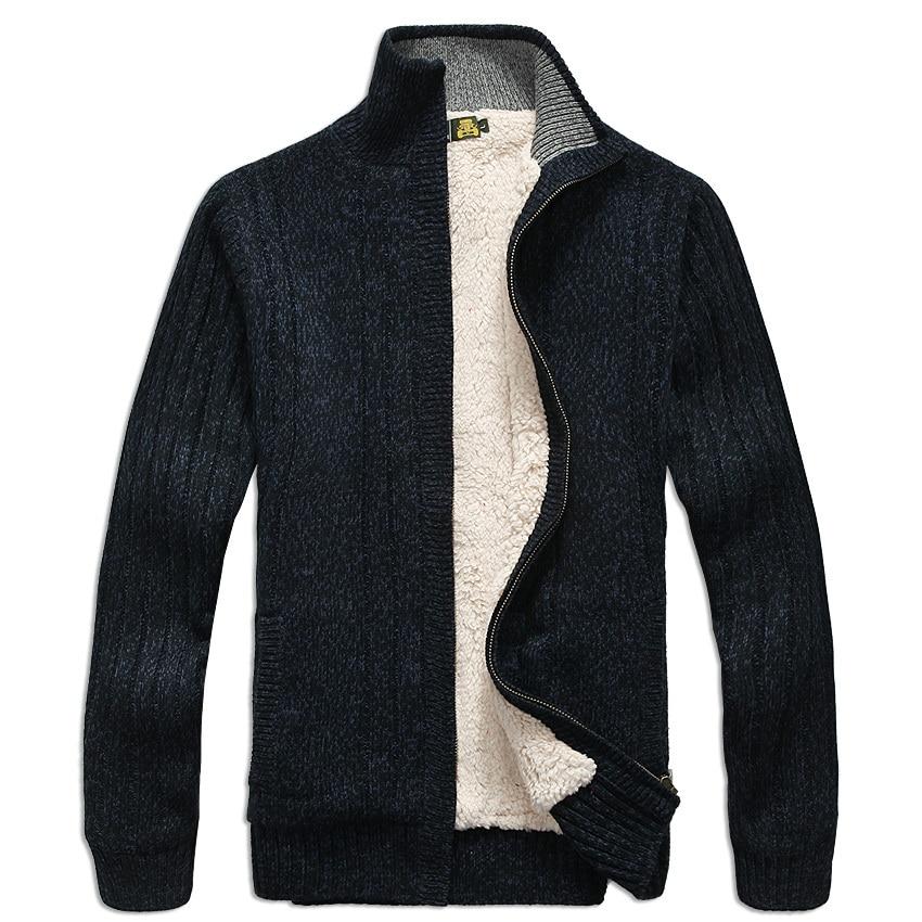 Men sweaters Long Sleeve Casual cardigan