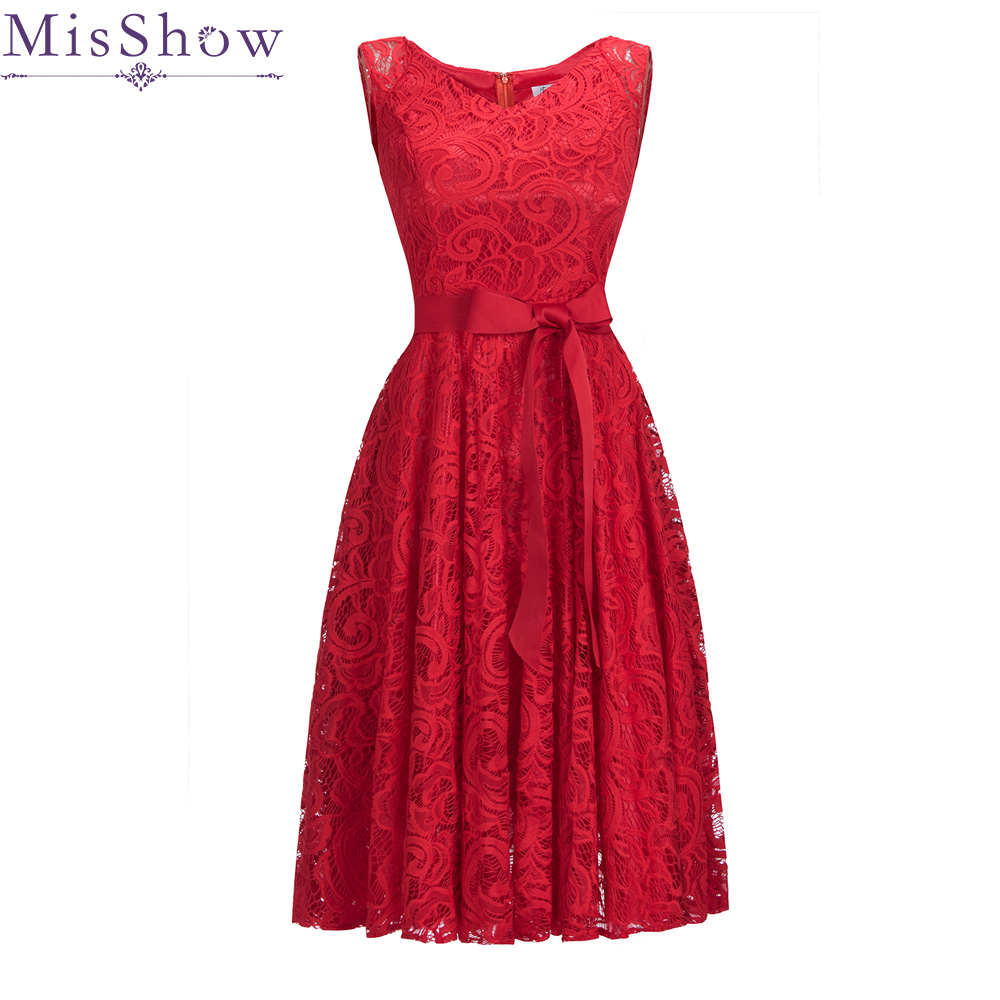 hot Sale Red Lace Cocktail Dress Elegant Short Cheap Simple Burgundy Formal  Dresses Sexy Sleeveless Prom Gown Robe De Soiree