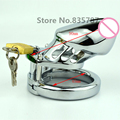"Metal Male CB Male Chastity Device Penis Cage,Cock Locking 1.75"" 2"" J-05"