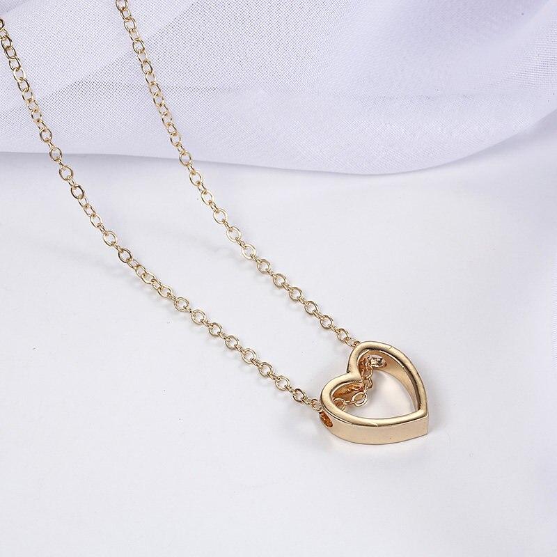 Модное женское ожерелье из сплава, s& Кулоны, колье, ожерелье золотого цвета с кристаллами, ожерелье для женщин, подарок - Окраска металла: xz3jin