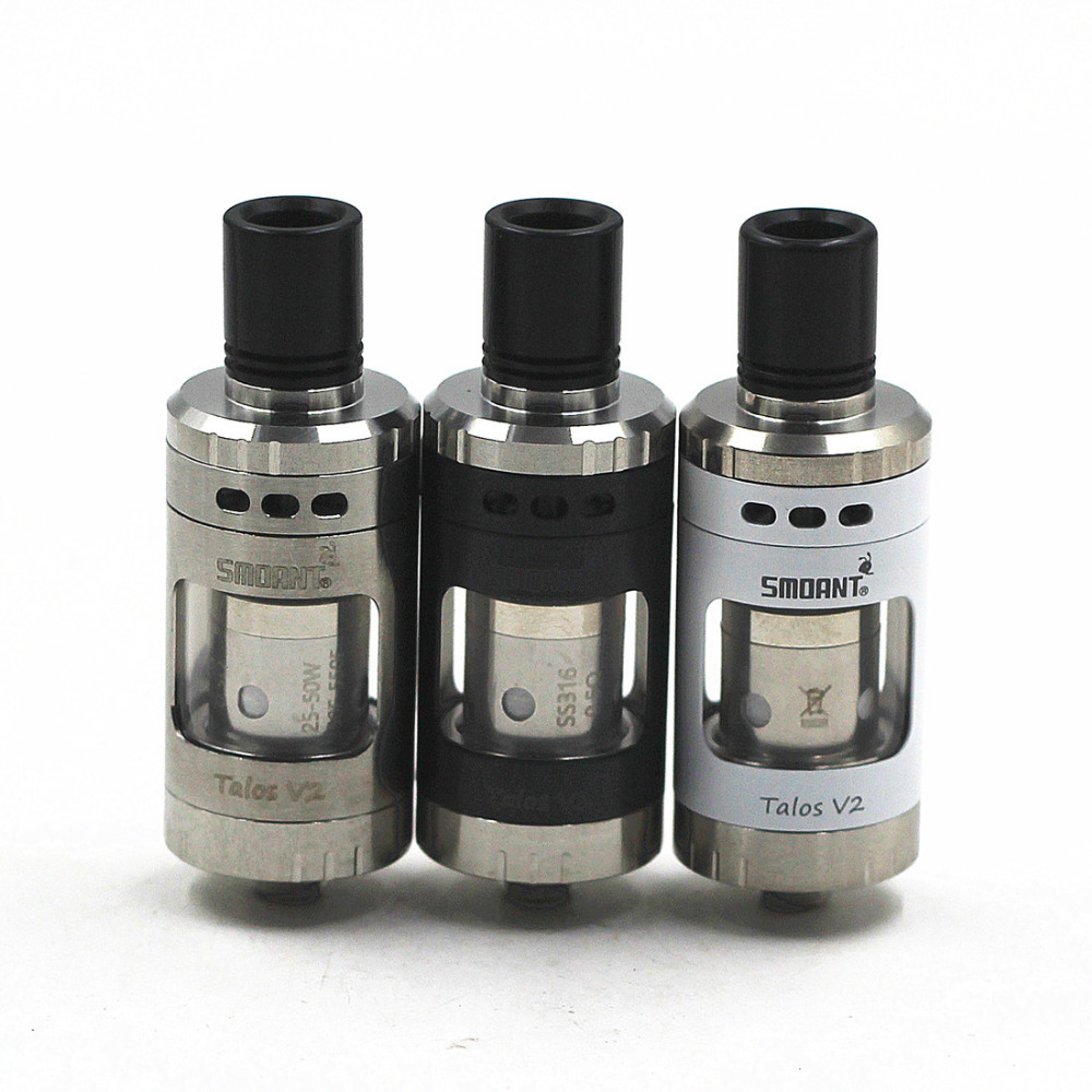 100% Original Smoant Talos V2 22mm Sub Ohm Tank Atomizer In Knight V2 TC Kit 2pcs 0.5Ohm Smoant Coils