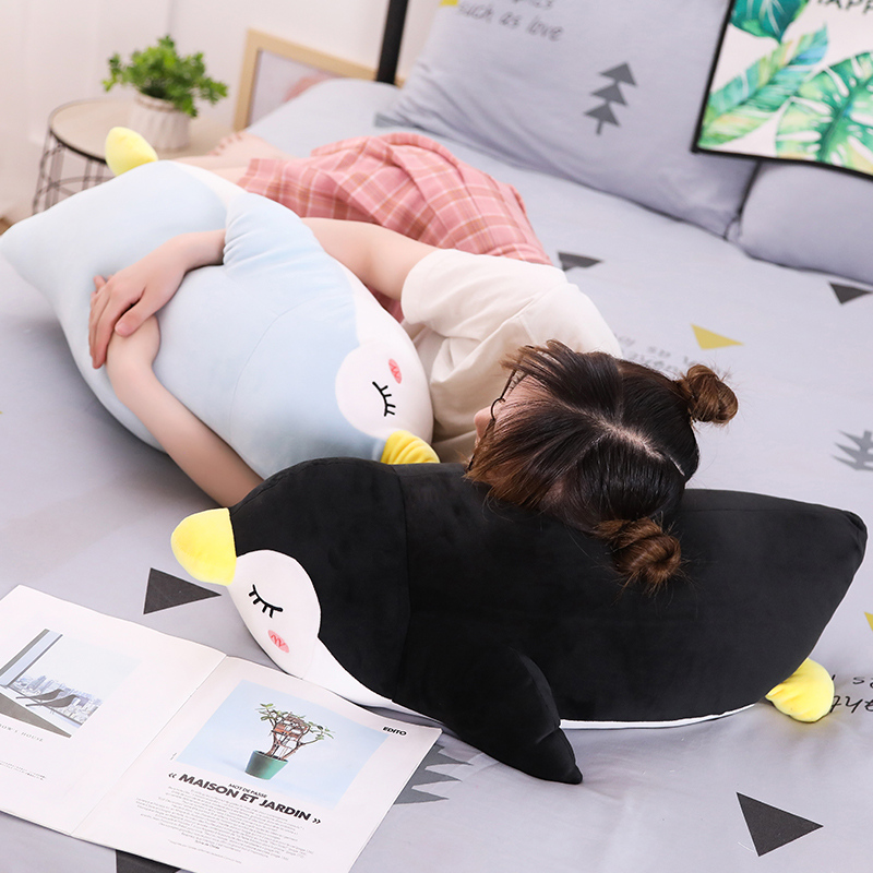 Hot 30cm 70cm Soft Penguin Plush Toys Staffed Cartoon Animal Doll Fashion Toy for Kids Baby Lovely Girls Christmas Birthday Gift in Stuffed Plush Animals from Toys Hobbies