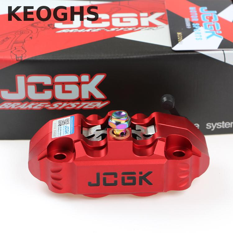 Keoghs Motorcycle Brake Caliper 82mm Mount Jcgk For Honda Yamaha Scooter Dirt Bike Kawasaki Modify keoghs ncy motorcycle brake disk disc floating 260mm 70mm 3 holes for yamaha bws smax scooter modify
