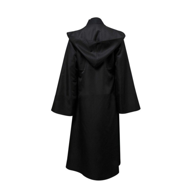Darth Vader Cosplay Clothes Terry Jedi Black Robe Star Wars Jedi Knight Hoodie Cloak Halloween Cosplay Costume Cape For Adult 2