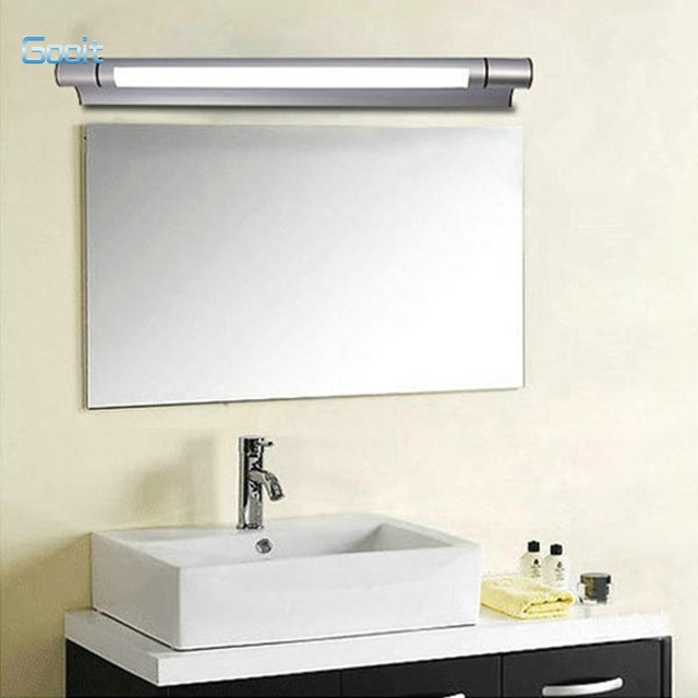 12W Aluminum Waterproof Tube Mirror Lamp Home Bathroom Wall Light