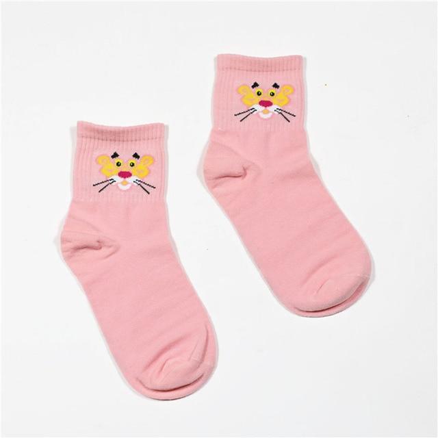 2019 High Quality Cute Elegant Lovely Cartoon Sweet Cotton Women Socks Animals Character Casual Short Socks Hot Sale