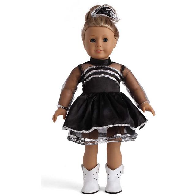 5PCS/LOT Wholesale American Girl Doll Clothes Fashion 18 Inch Doll Dresses