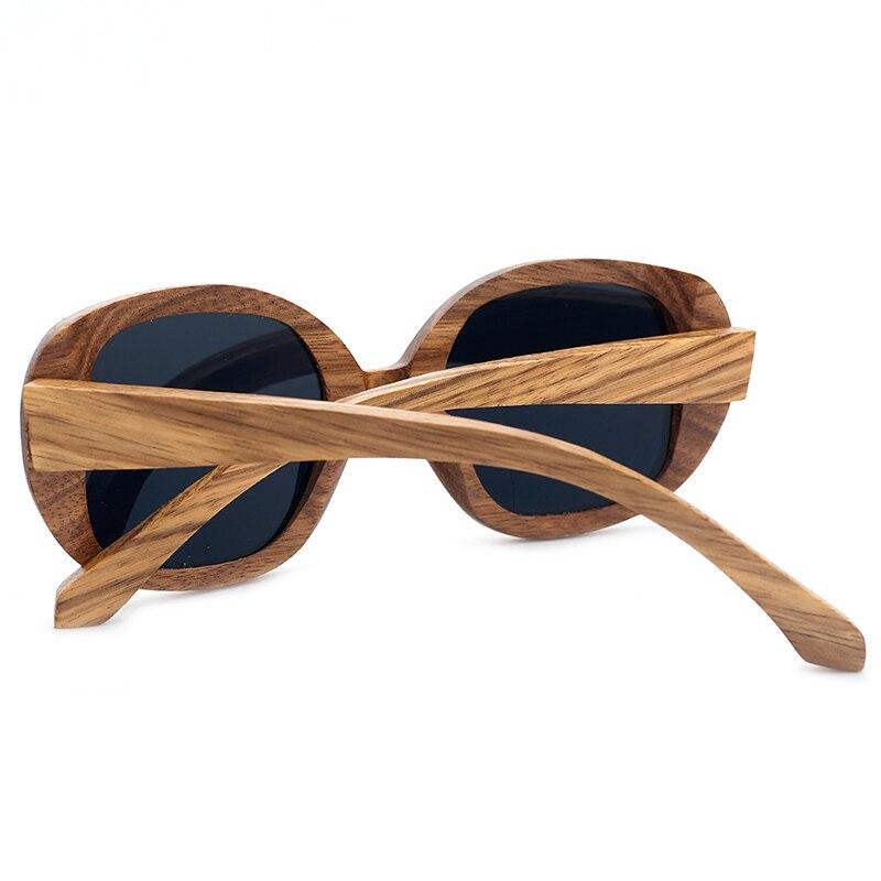BOBO OISEAU AG002a Unisexe Fait Main Nature Zèbre En Bois lunettes de Soleil  Miroir Revêtement UV 400 Protection En Bois lunettes de soleil pour Femmes  dans ... d3d2b5e7f71f