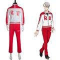 Victor victor nikiforov traje de yuri en ice nikiforov pantalones chaqueta fiesta de halloween nuevo anime cosplay uniforme por encargo
