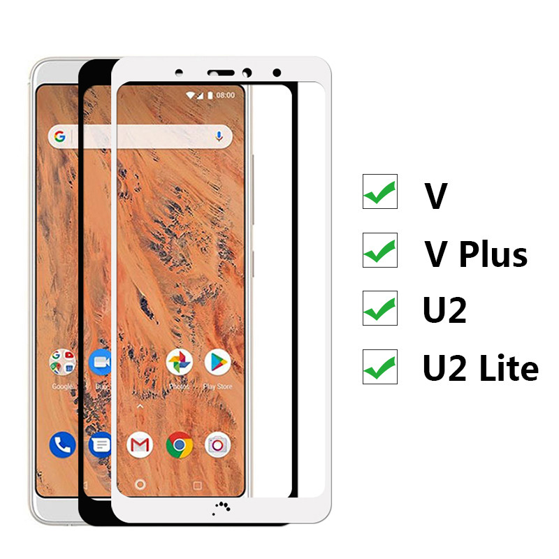 Tempered-Glass BQ Q-U2lite 2-Light Aquaris Protective-Film Screen-Protector VPLUS