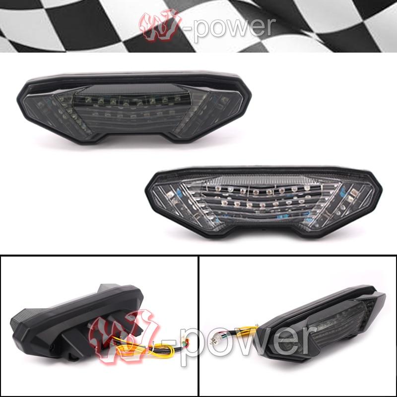ФОТО fite For YAMAHA MT-09 FZ-09 FZ 09 MT 09 2014 2015 2016 Motorcycle Integrated LED taillight brake blinker Blinker Lamp