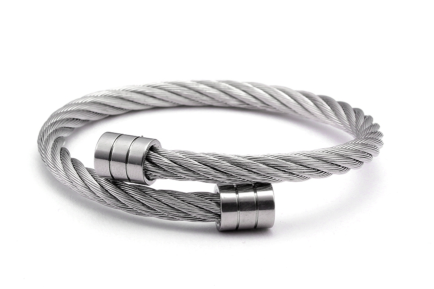 Vintage Steel Bangles (5)