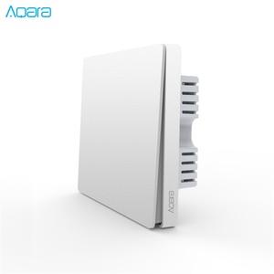 Image 4 - Aqara Wand Schalter Licht Schalter ZigBee Version Einzelnen Feuer/Null Feuer/Wireless Schalter APP Control Fernbedienung Smart Home kit