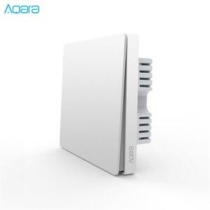 Image 4 - Aqara настенный выключатель, светильник ZigBee версия, один огонь/нулевой огонь/приложение для беспроводного переключателя, пульт дистанционного управления, умный дом
