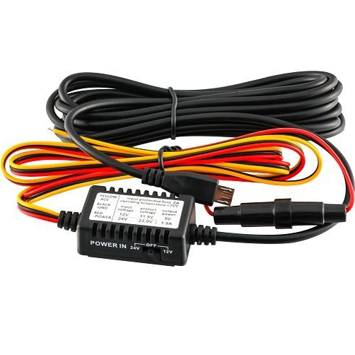 Micro USB Haut de Gamme Dur Fil Kit 5 v 1.5amp pour Dash Cam Mini 0803/0805/0806/ 0826/0903/0906/0906 s Nano Q Téléphone Parking Garde