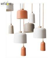 Original do Designer Demark pendent bar Quarto Sala de Jantar arte decoração da lâmpada de Iluminação de Alumínio