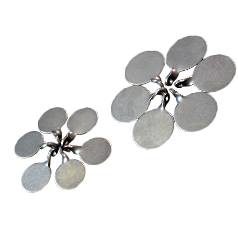 10/12 Pcs Stainless Steel Target Dia 3 Cm Center Of Box Target Thickening Box For Shooting Gun Hunting Slingshot
