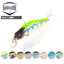 Wobblers Minnow Fishing Lure 9cm 8.5g Laser Hard Bait Artificial Plastic Crank Bait 3D Natural Eyes Crankbait Fishing Tackle