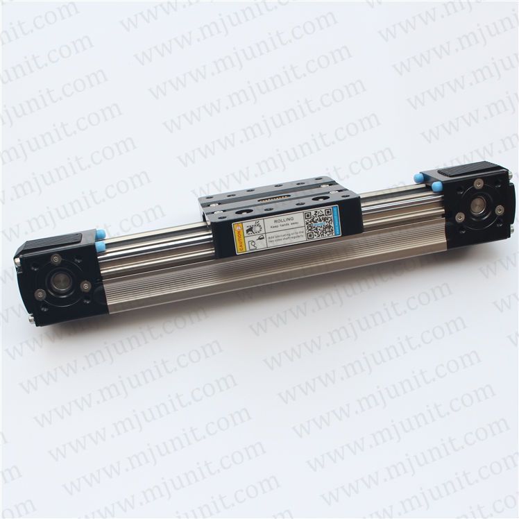 Glue dispenser machine rail, printing bed belt drive made in china High rigidity Roller Type wheel linear rail high rigidity roller type wheel linear rail smooth motion belt drive guide guideway manufacturer