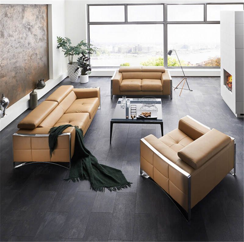 Aliexpress : Buy Modern Sofa Set Leather Sofa With Sofa Set Designs For  Sofa Set Living Room Furniture From Reliable Design Leather Sofa Suppliers  On
