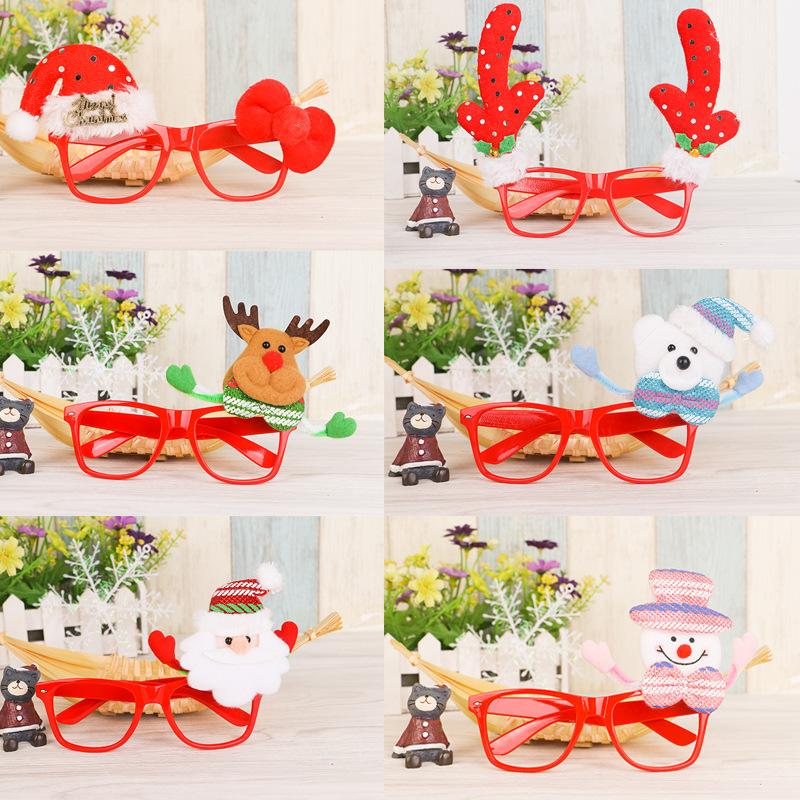 unids titulares de gafas para el hogar fiesta de navidad rbol de navidad habitacin tienda