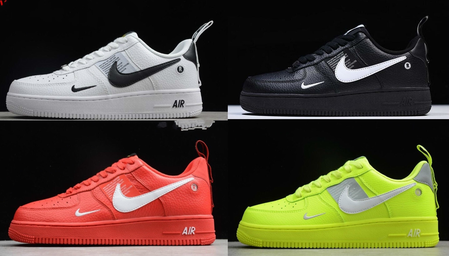 new concept 34913 9ebe8 Aliexpress.com   Buy Air Force 1 One Low 07 Lv8 Utility Black White Women  Mens Shoes Af1 Sneakers from Reliable Skateboarding suppliers on  Shop5026029 Store