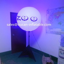 tripod inflatable balloon with led for decoration on party/club