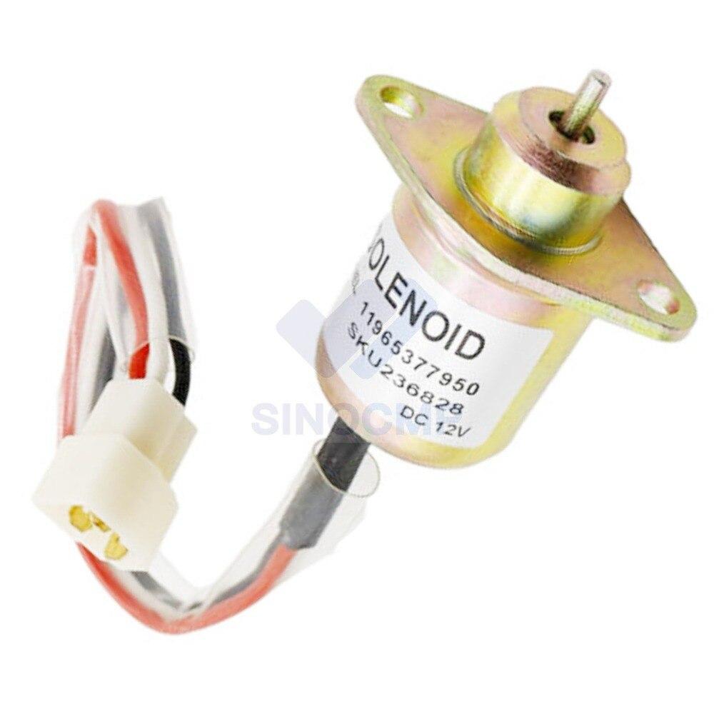 12V Fuel Shut Off Solenoid 150ES-12S5SUC12S for Excavator R55-7 R60-7 DH60, 3 month warranty12V Fuel Shut Off Solenoid 150ES-12S5SUC12S for Excavator R55-7 R60-7 DH60, 3 month warranty