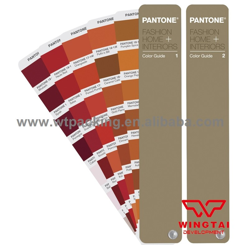 2017 Hot Selling Pantone Colour Chart TPG FHIP110N For Textile & Garment Color Matches (Replace TPX) pantone fashion home interiors color guide tpg fhip110n replace fhip110