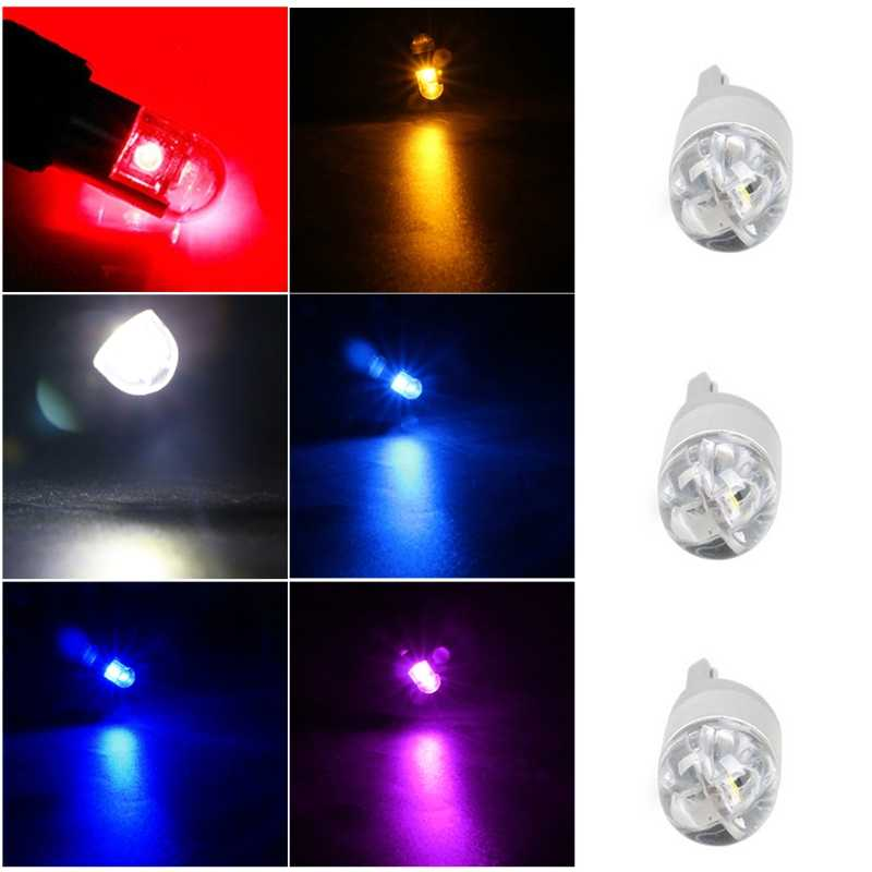 T10  WY5W W5W Car Light Led SMD 3030 Bulb Indicator 192 501 Tail Side Bulb Wedge Parking Light Dome Auto Styling DC 12 V-M52