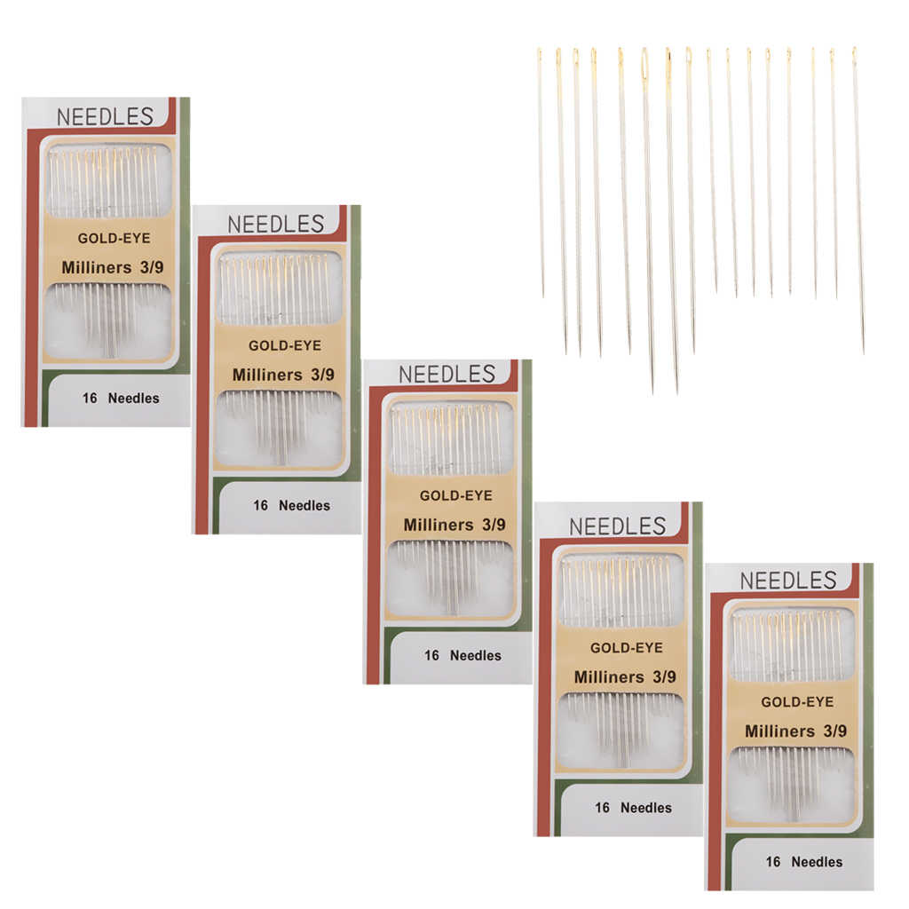 Hoomall Brand 2 Packs Self Threading Hand Sewing Needles Set