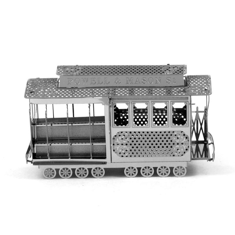 Transportation Puzzles DIY 3d jigsaw puzzle models Metal works christmas puzzles for Educational and learning
